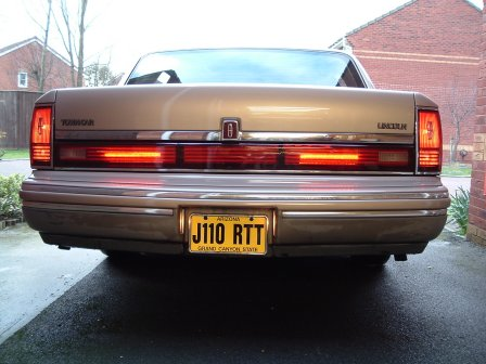 I Put Some Leds In The Reflector Panel Of My 92 To Comply With Our Rear Fog Light Regulations