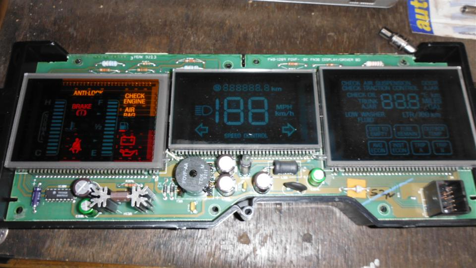 [Removing Instrument Panel From A 2003 Lincoln Town Car ...