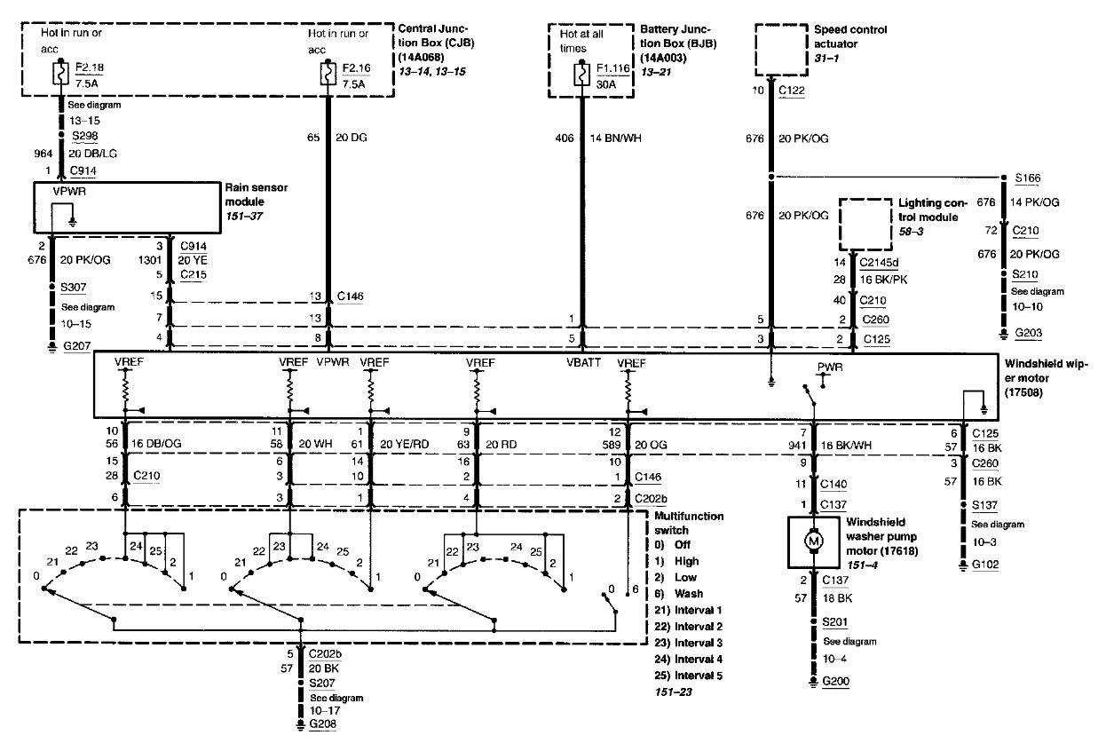 1998 Lincoln Town Car Alternator Wiring Diagram ...