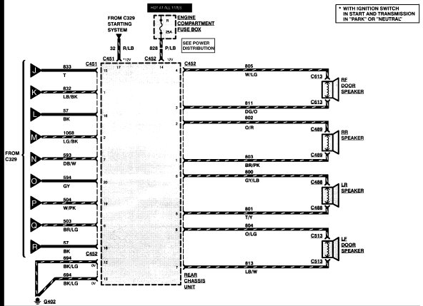 wiring diagram 1997 lincoln town car wiring image 1997 lincoln continental stereo wiring diagram jodebal com on wiring diagram 1997 lincoln town car