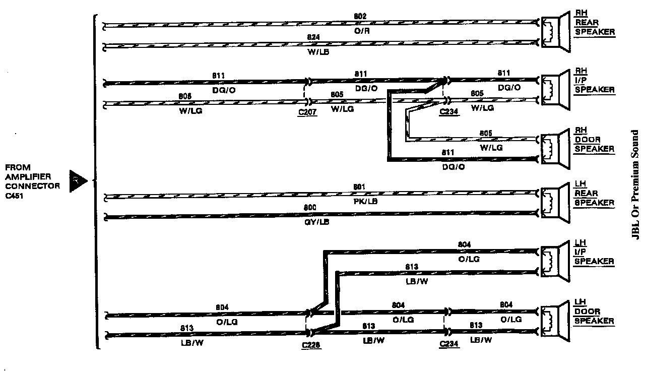 89TCRadioWiring 1988 town car w bad amp lincolns online message forum 1995 lincoln town car radio wiring diagram at suagrazia.org