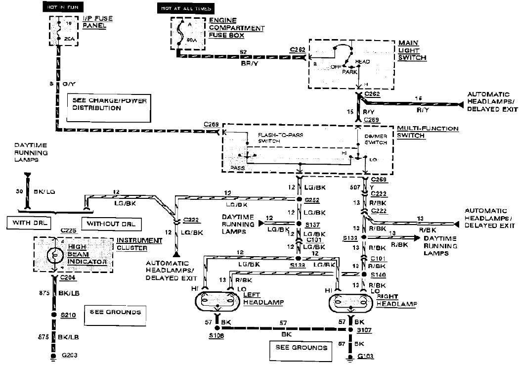 90 tc headlight wiring diagram