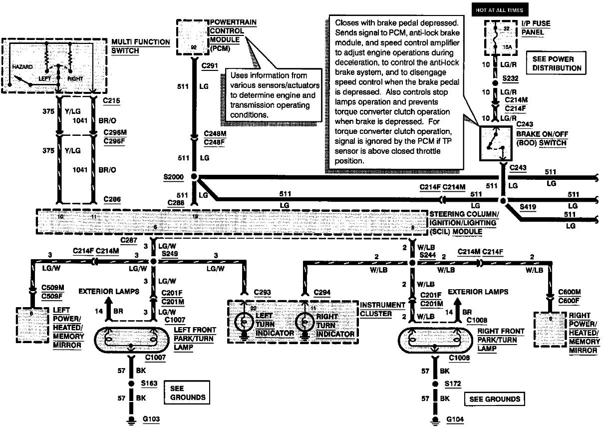 ecm wiring harness diagram on dodge turn signal switch